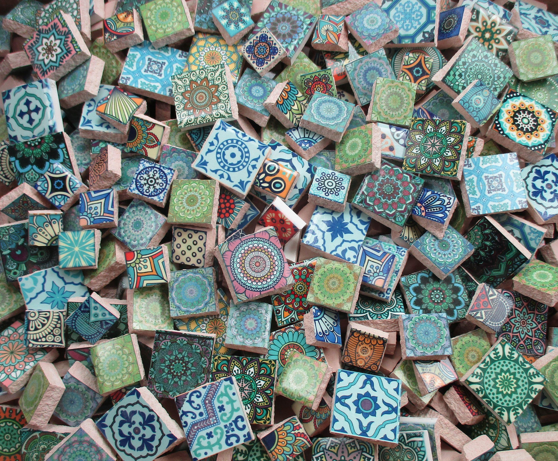 Bulk Mosaic Tiles 2 Pounds Mixed Moroccan Tile Designs Mosaic Mosaic Tiles Ceramic Mosaic Tile