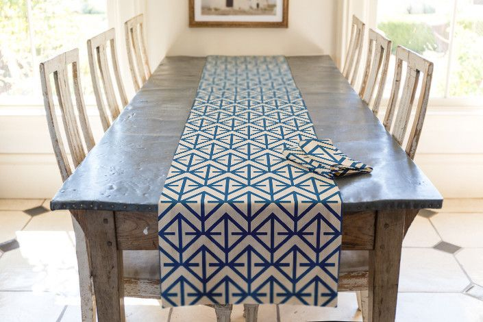 Cadre Table runner by Katie Jarman   Minted
