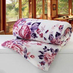 Cobertor Casal Estampado Nasca - Camesa