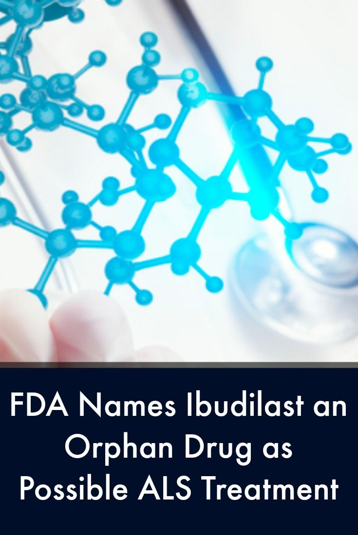 Ibudilast, Possible ALS Treatment, Named Orphan Drug by FDA | ALS