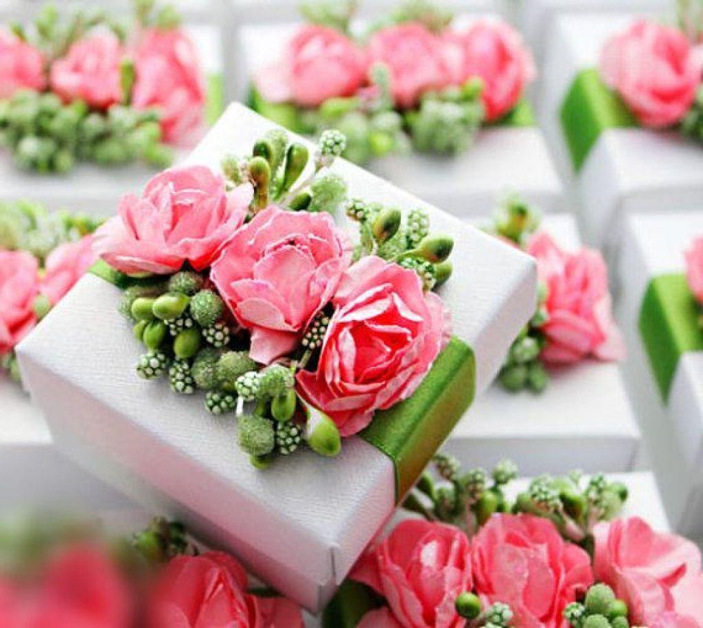 Shabby Chic Spring Wedding Favor Box | A Vintage Shabby Wedding ...