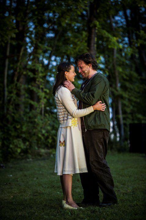 Jakke strikket for Telemark Teater Ibsen