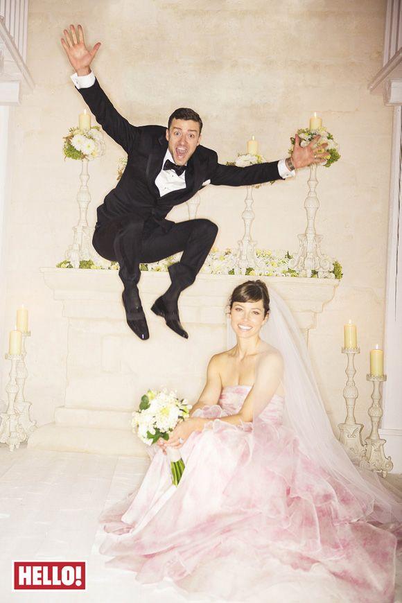 Justin Timberlake Jessica Biel Wedding Photo So Stinking Cute