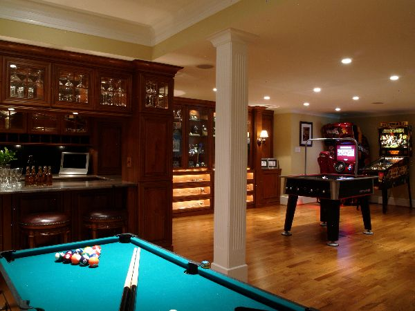 design ideas for game and entertainment rooms - Game Room Design Ideas