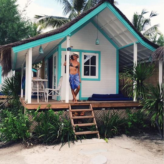 Vinstage 4u Tiny Beach House Beach Cottage Style Small House