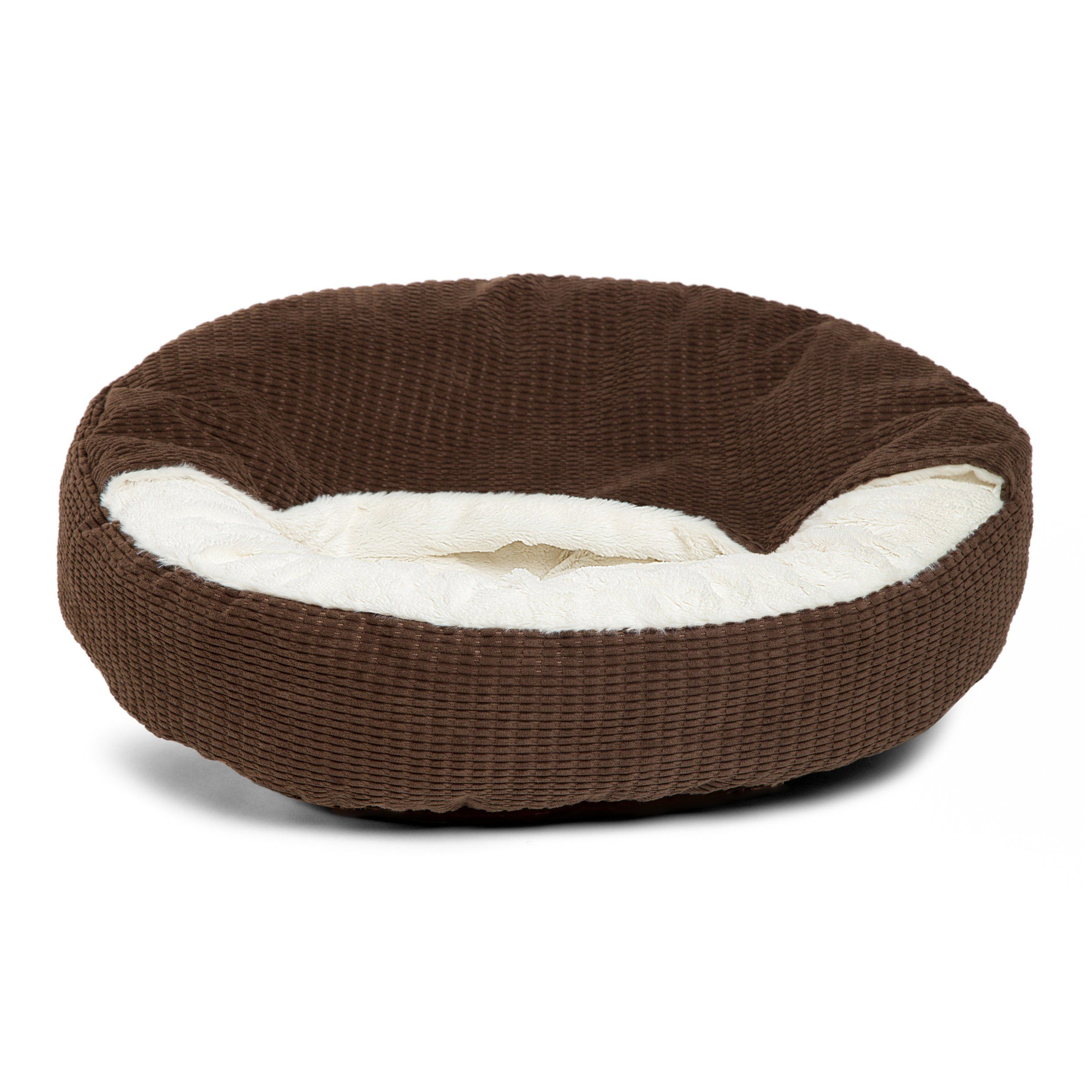 Best Friends By Sheri Cozy Cuddler In Mason Dog Cat Bed 26 X 26 Dark Chocolate Click Image For More Details This Is An Affiliate Link Dogbedfurni Cat Bed