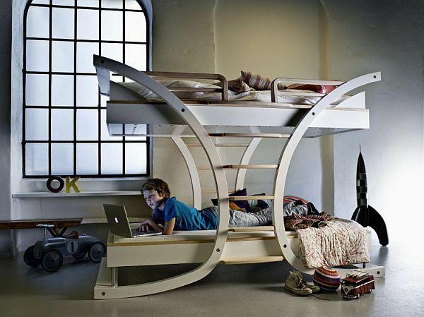 moderne jungenzimmer ideen stockbett spielzeug | Wohnen ... | {Jungenzimmer ideen 37}