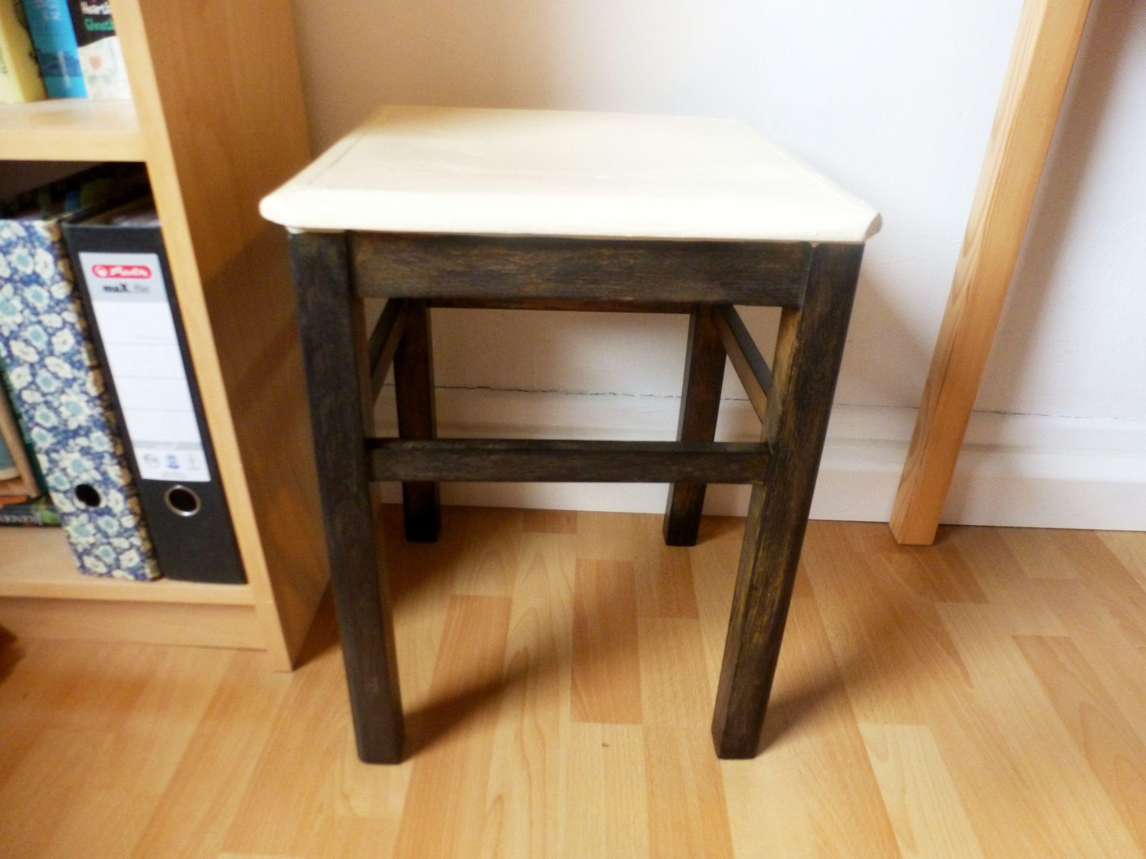 Stuhl neu gestalten - Stuhl Auffrischung mit einfachsten Mitteln ...