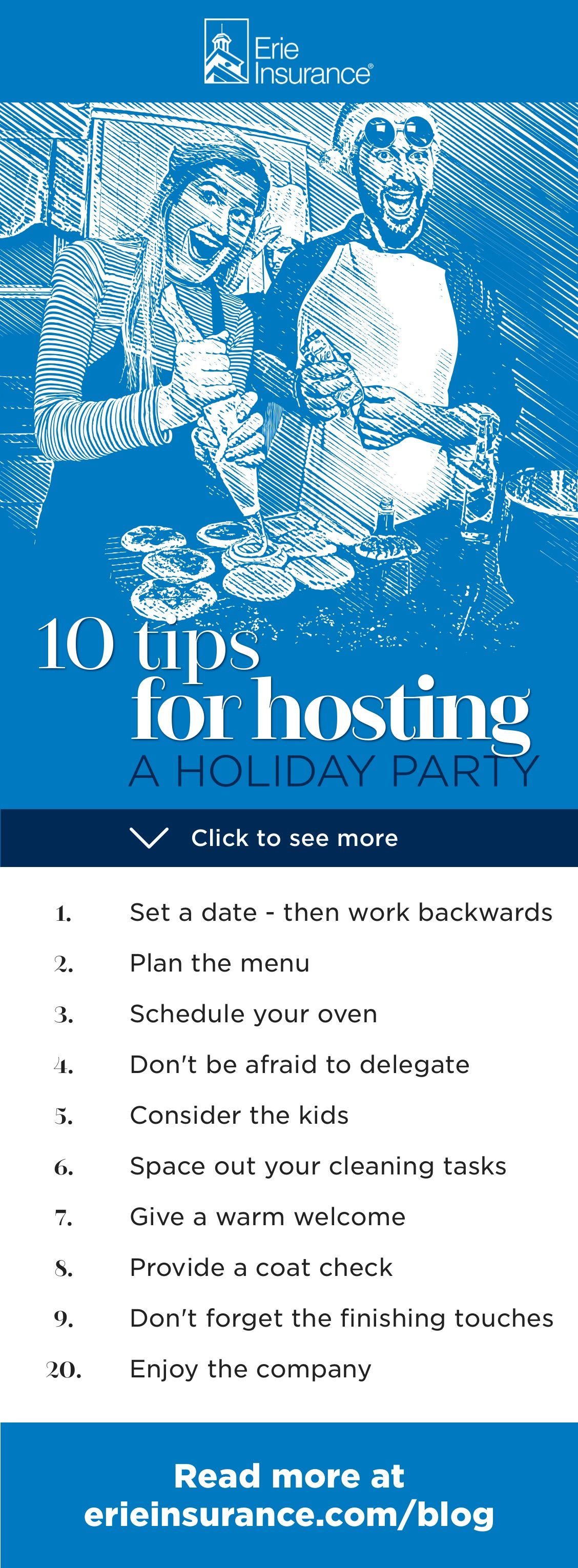 10 Tips to Host a Holiday Party (Without Stressing Out