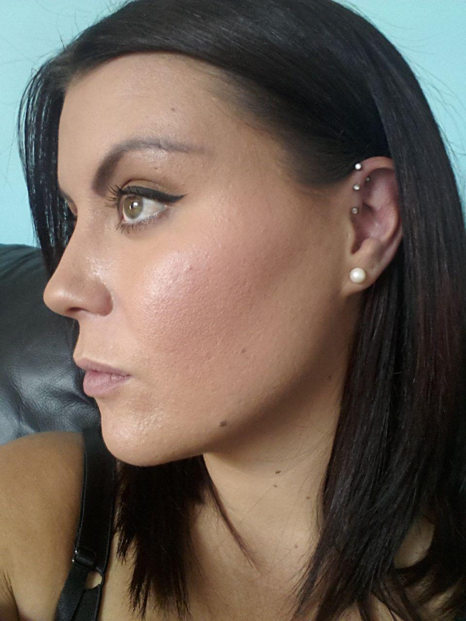 Spot under nose piercing  My triple helix ear piercing uc HJW  TATTuD  Pinterest  Helix ear