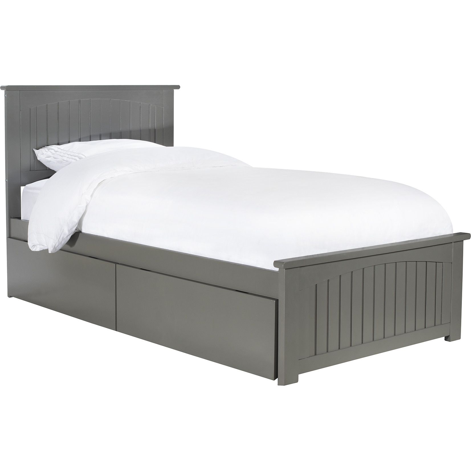 Atlantic Nantucket Twin Xl Platform Bed Matching Footboard 2