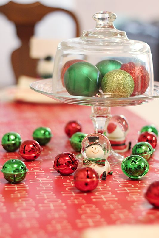 The Crafty Cupboard Holiday Dining Decorations with Dollar General - dollar general christmas decorations