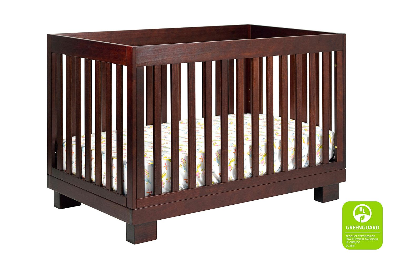 Modo 3in1 Convertible Crib with Toddler Bed Conversion