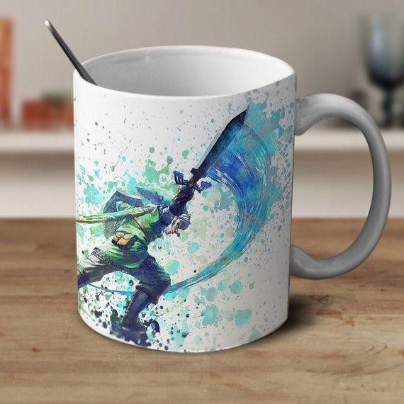 Midna And Link Legend Of Zelda Mug Zelda Mug Zelda Watercolor