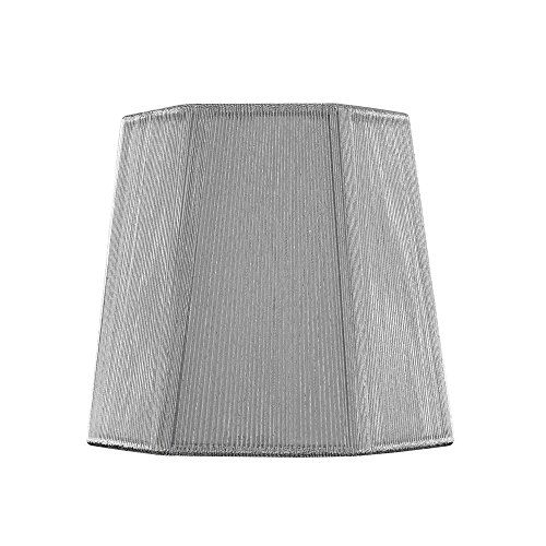 Silver Lamp Shades Endearing Clipon Hexagon Silver Lamp Shade Design Classics Lighting Https Inspiration