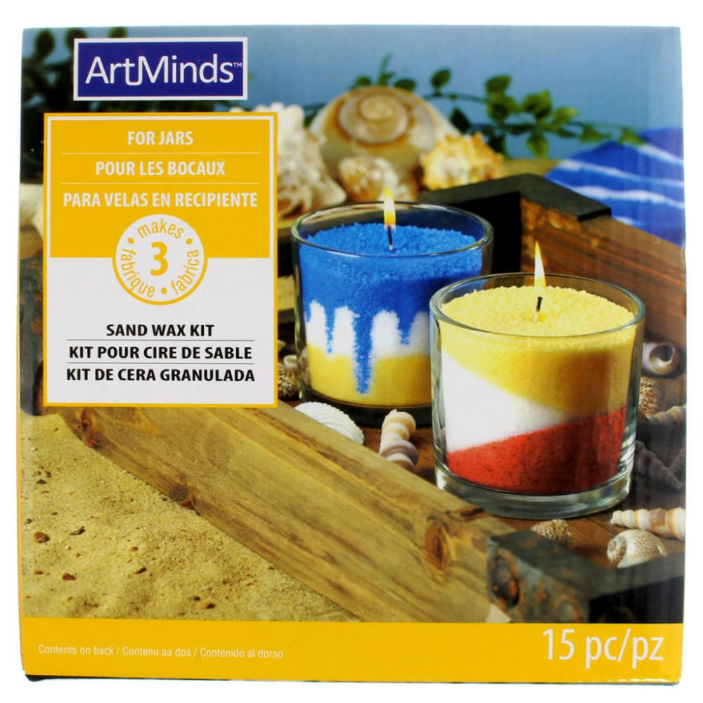 Sand Wax Candle Kit by ArtMinds™