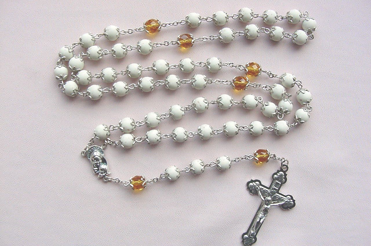 Rosary beads made from funeral flowers image collections flower rosary beads made from funeral flowers image collections flower classic basic rosary instructions make your own izmirmasajfo Image collections