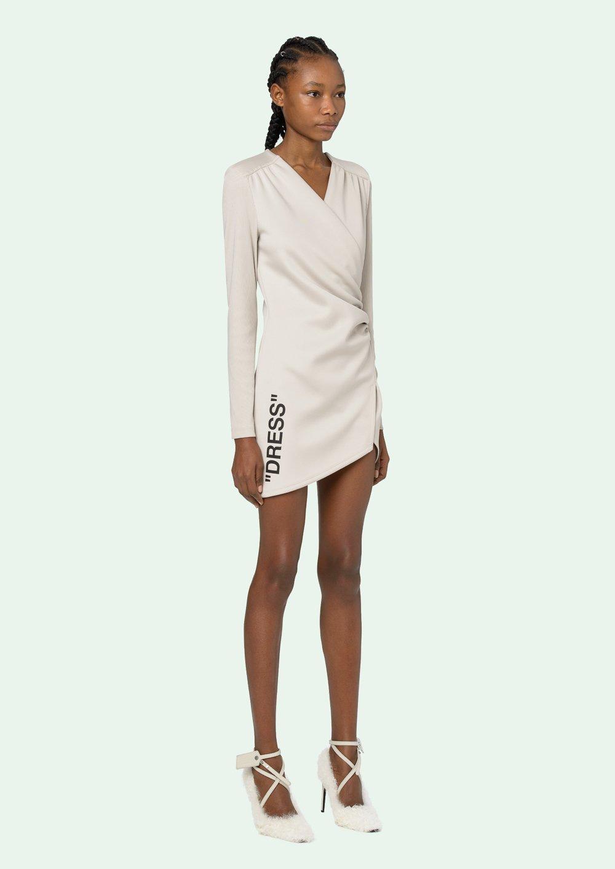 Quote Mini Dress Off White Official Website Mini Dress Fashion Dresses [ 1413 x 1000 Pixel ]