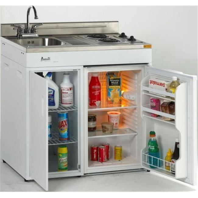 Details About Mas 30 In Complete Compact Kitchen 2 2 Cf