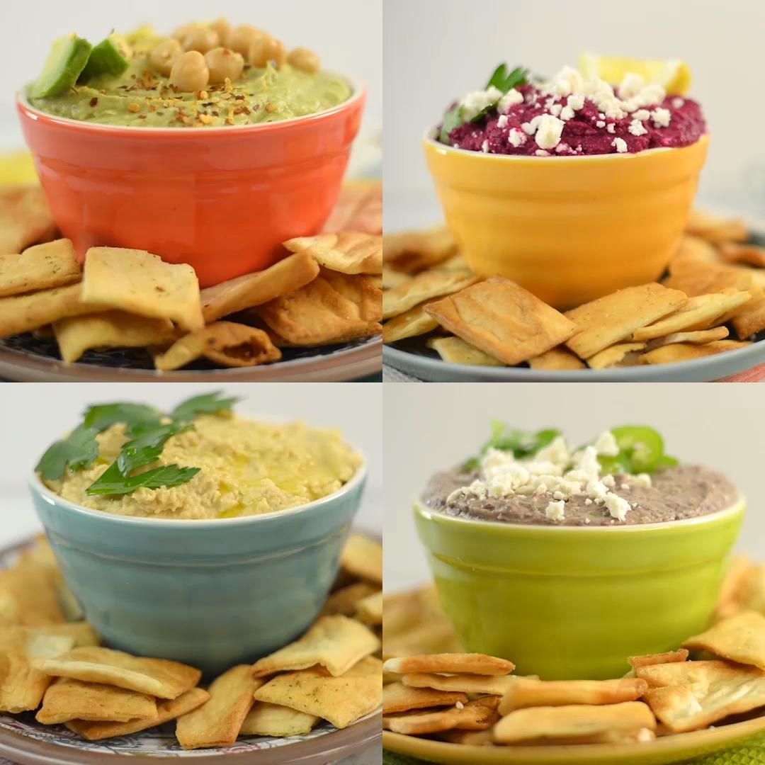 4 Möglichkeiten, Hummus zu machen  – Dicas para a vida!