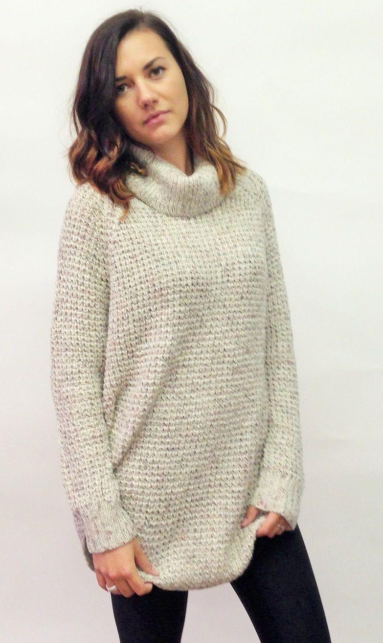 Oatmeal Chunky Sweater Momentum Clothing FallFashion2014