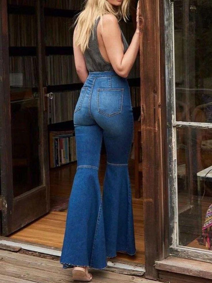 31 Die besten Outfits, um Vintage-Jeans mit hoher Taille mit Stil zu tragen