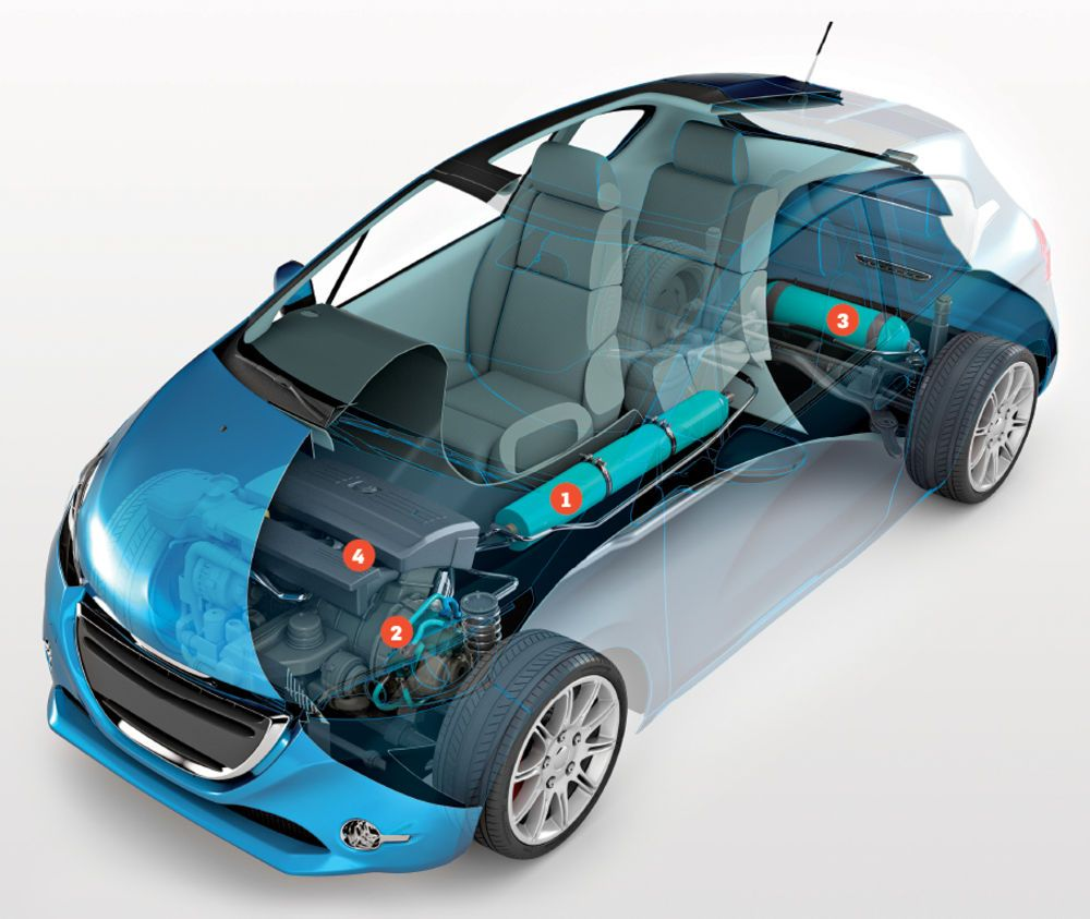 Compressed Air Car >> The Car That Runs On Air Popular Science Cars Pinterest