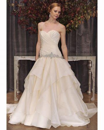Yellow Wedding Dress by Judd Waddell   My dream wedding   Pinterest ...