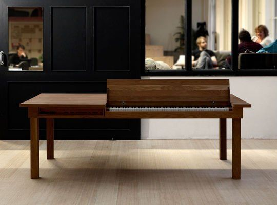 Save Space with the Electric Piano Dining TableSave Space with the Electric Piano Dining Table   Electric piano  . Piano Dining Room Table. Home Design Ideas