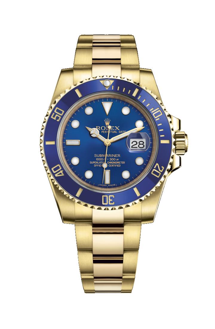 c14aa59d91b Rolex Submariner Date (Blue   Gold) Replica Watches UK