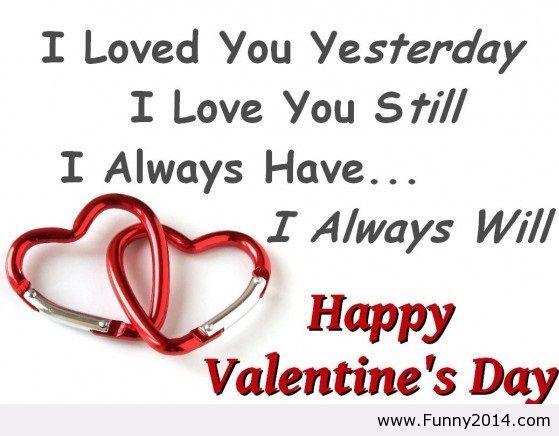 happy valentines day quote 2014