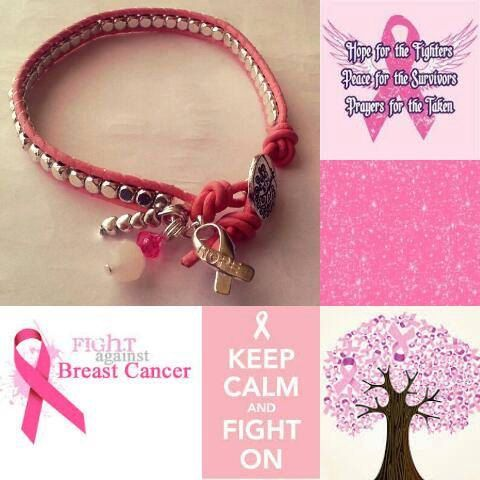 Hey, I found this really awesome Etsy listing at https://www.etsy.com/listing/228409667/pink-leather-wrap-awareness-bracelet