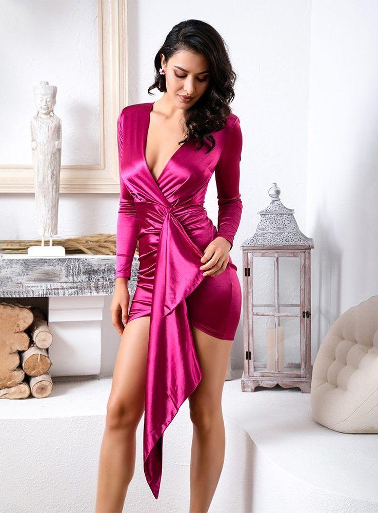 Park Art My WordPress Blog_Pink Bodycon Dress With Sleeves