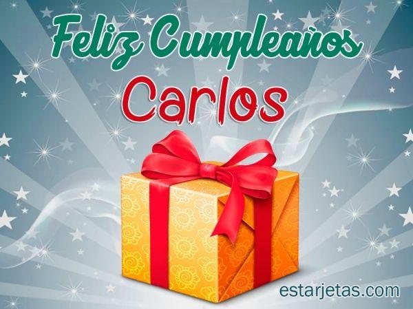 Felíz Cumpleaños Carlos 4 Feliz Cumpleaños Carlitos Feliz
