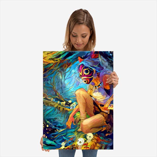 Princess Of the Spirits   Displate thumbnail