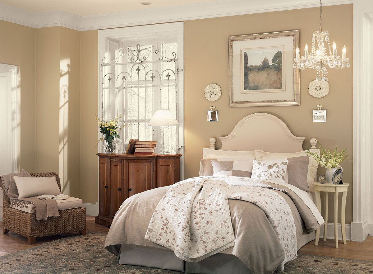 Bedroom ideas inspiration truffle oc and neutral for Bedroom colours ideas paint