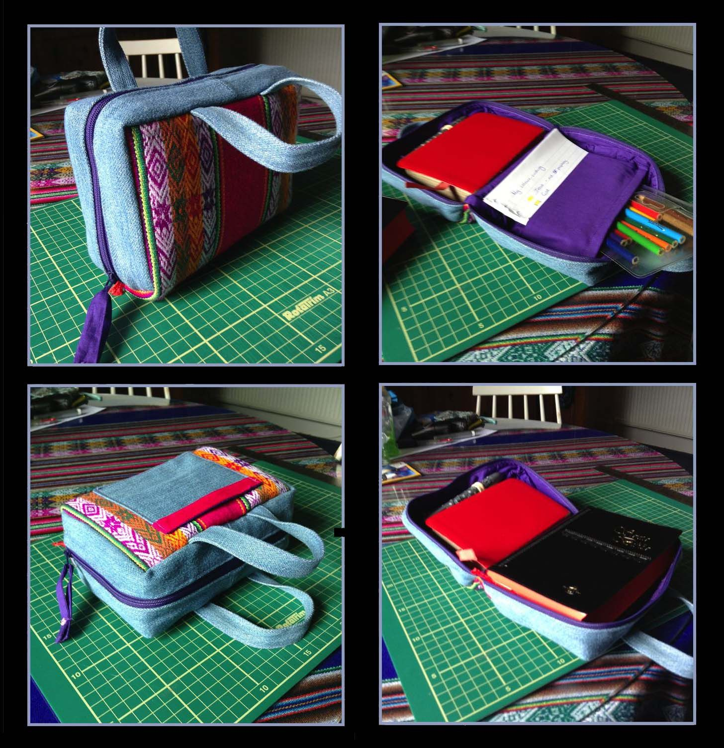 Zippered Bible Cover (Sewing Tutorial) Bibel Tasche | Cleaning ...
