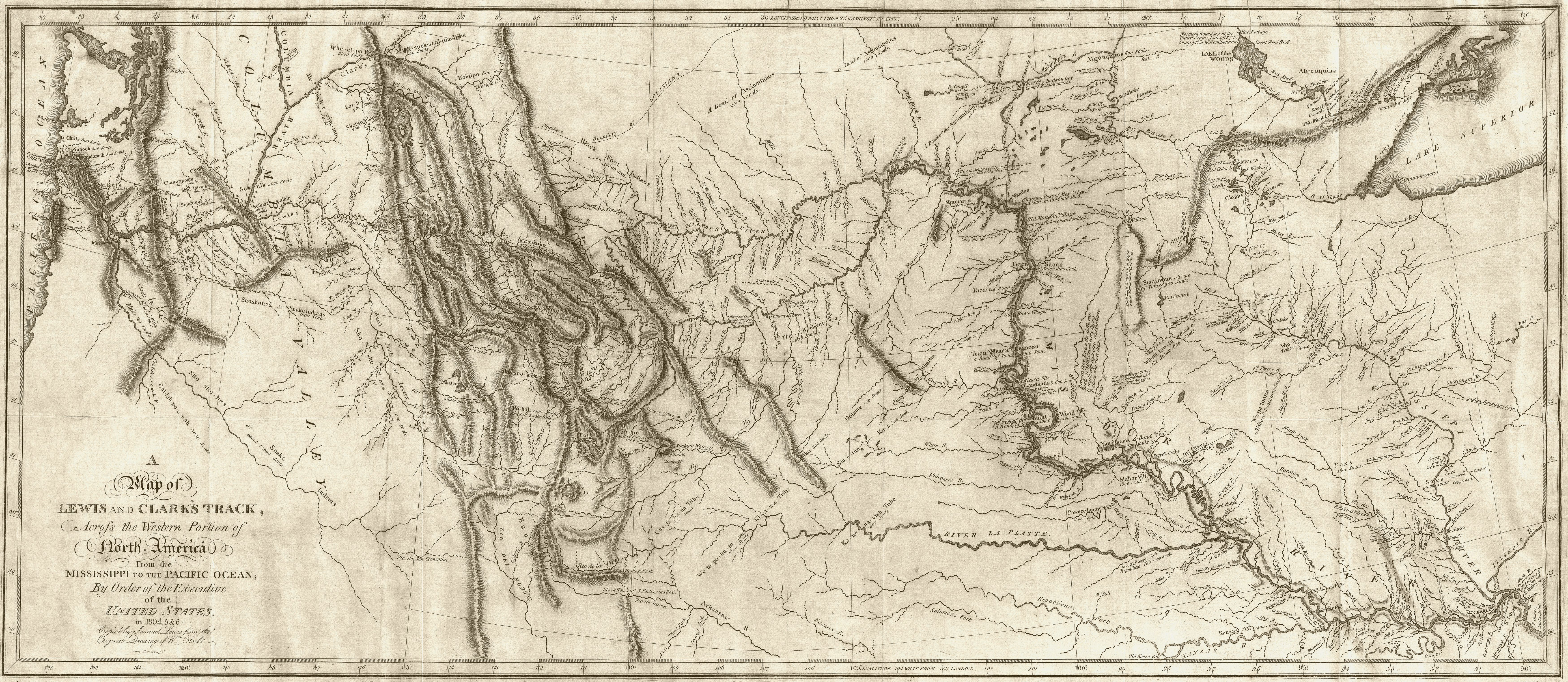 Pin de Trappin en Lewis and Clark Expedition Maps | Pinterest