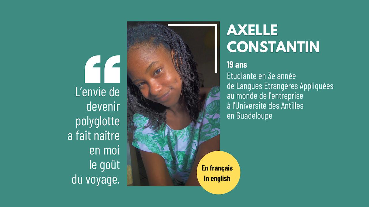Cela fait longtemps que je veux proposer des contenus en français et anglais sur mon blog, parce que la Grande Caraïbe compte nombre d'anglophones que j'ai toujours voulu naturellement compter […] L'article #SoCaribbean : Axelle Constantin, 19 ans, étudiante à grand potentiel est apparu en premier sur Le blog de Mylène Colmar.