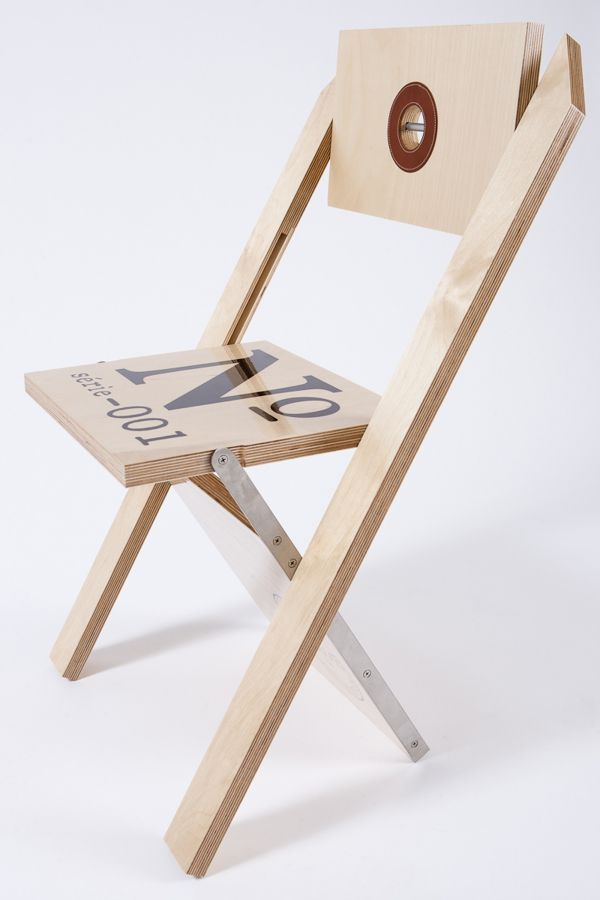 Label Chair de Felix Guyon Atelier Decor #silla #etiqueta #diseño