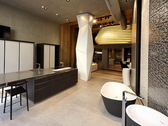 Paris showroom porcelanosa stores pinterest more showroom ideas - Showroom point p paris ...