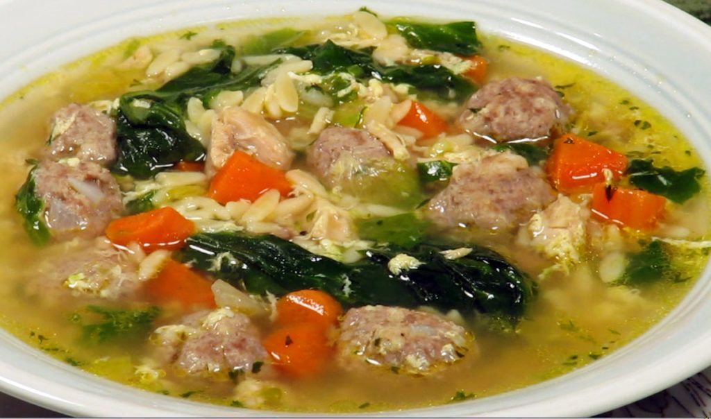 GRANDMA'S AUTHENTIC ITALIAN WEDDING SOUP - MANGIA MAGNA