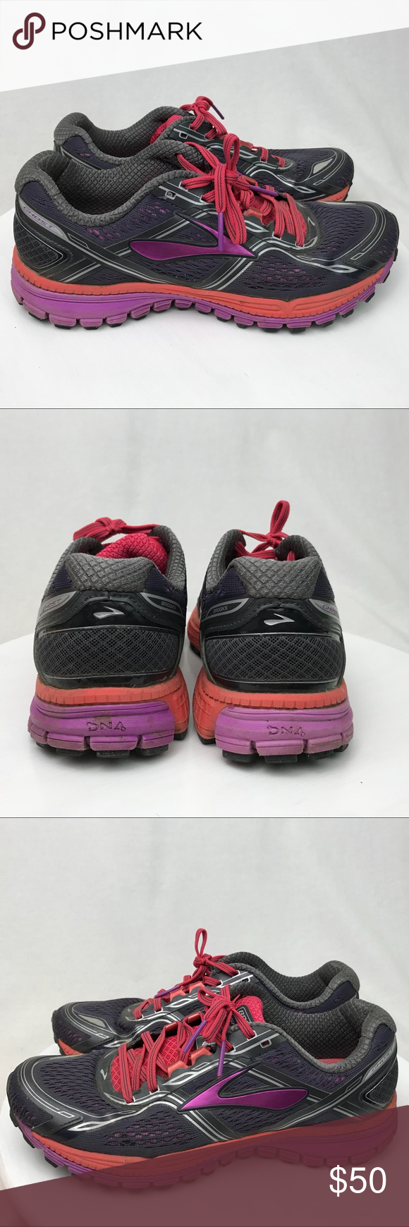 f564d07ae1d Brooks Ghost 8 Womens Running Athletic Shoe 9.5 Very Good Pre-Loved  Condition! The