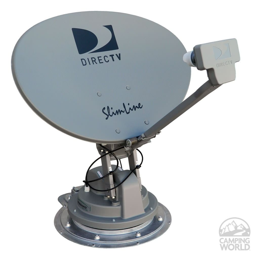 Trav Ler Directv Swm Slimline Automatic Multi Satellite Tv Antenna Television Antenna Satellite Dish Tv Live Online