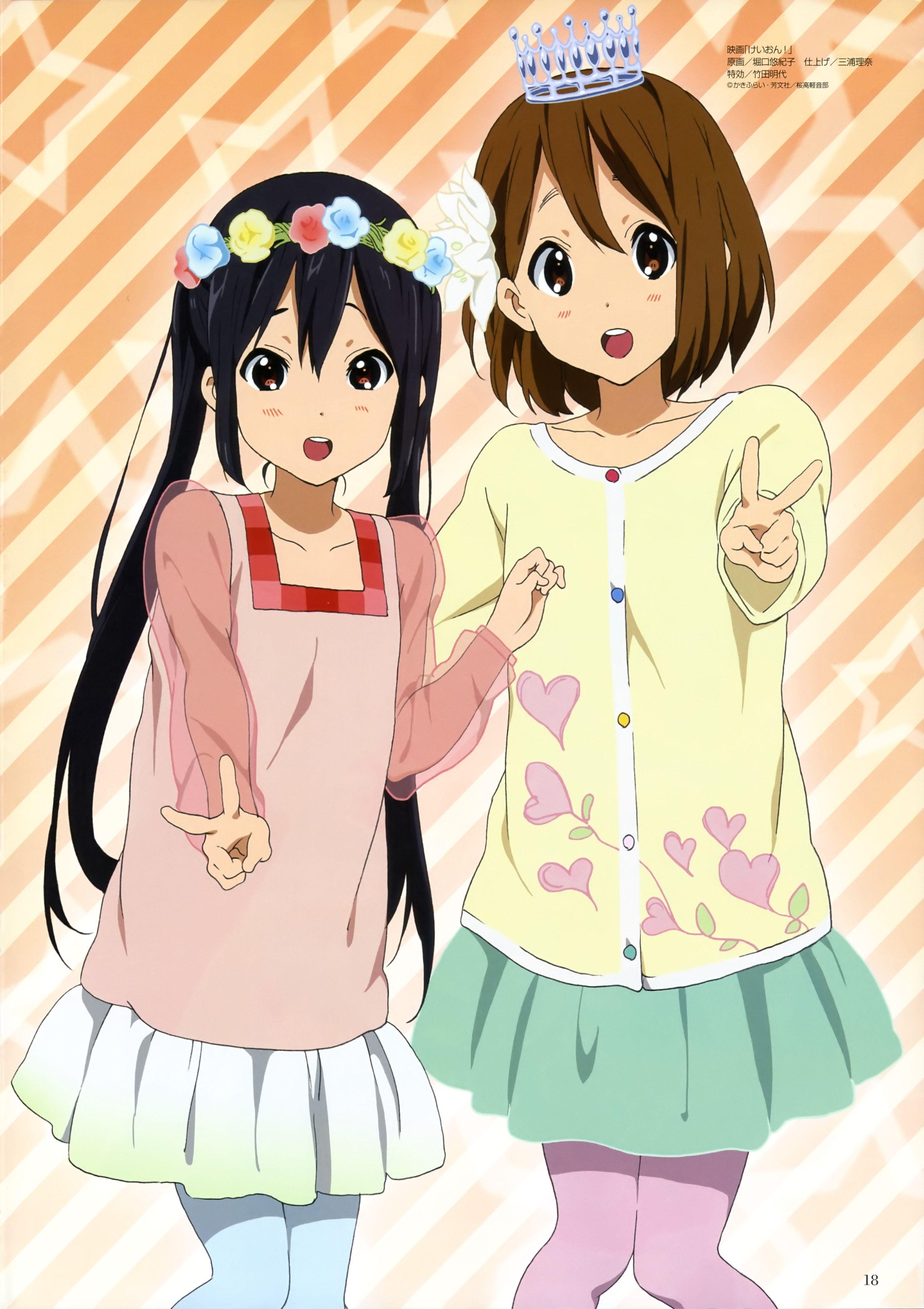 azusa x yui bff kon KON! Pinterest Bff, Anime and