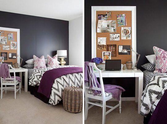 Simple Bedroom Office