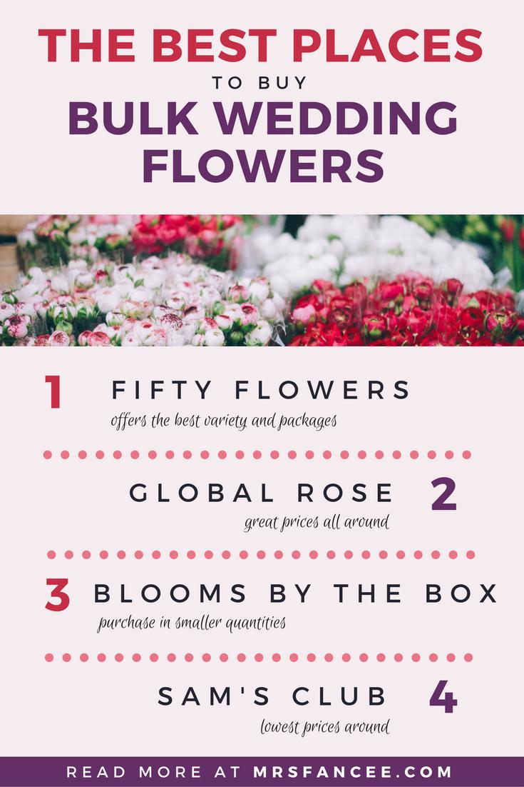 The Best Bulk Wedding Flowers Suppliers All Things Wedding