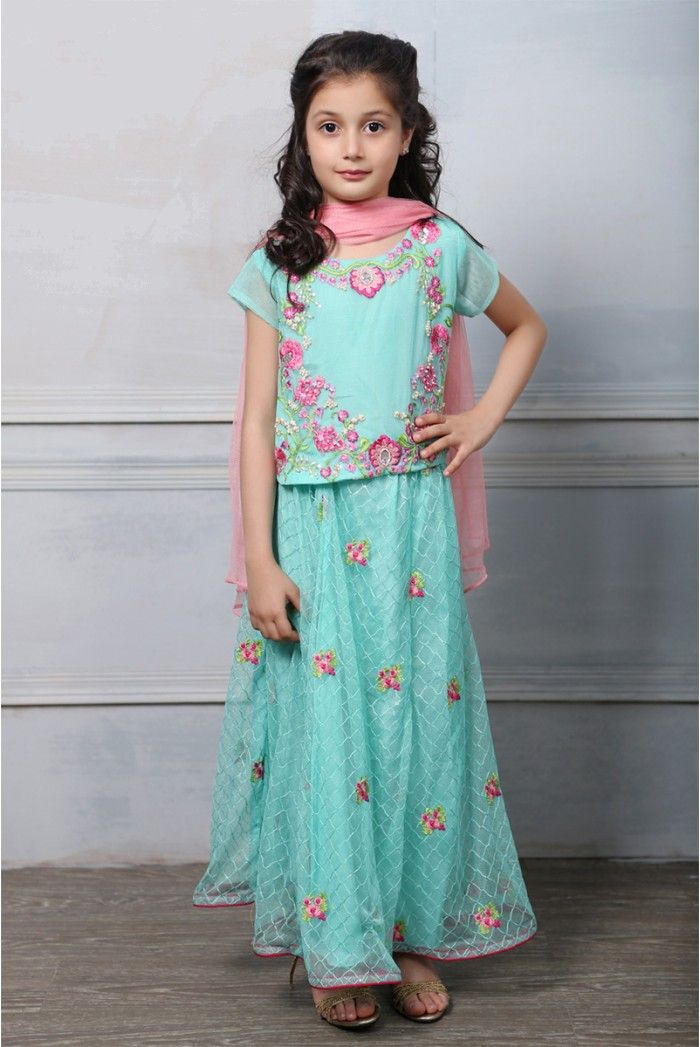 a5eea3a766a Maria B Fancy Kids Dresses Designs 2018-19 Collection for Girls ...