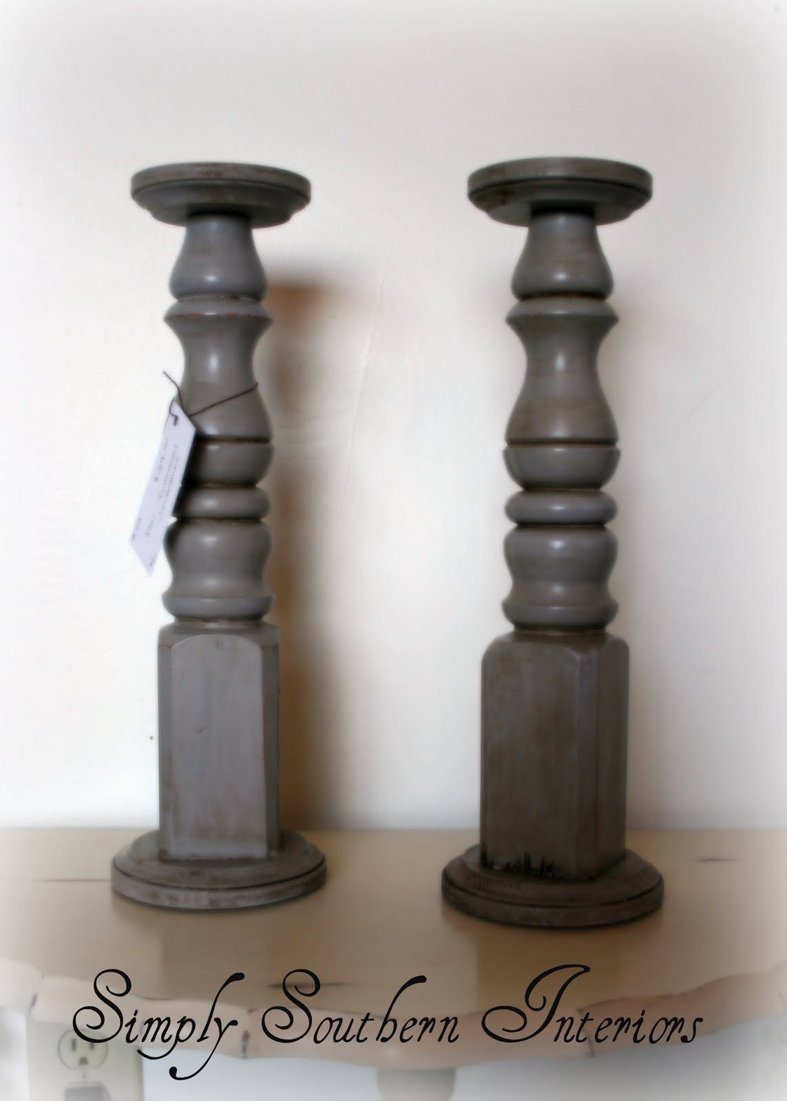 Repurpose Table Legs Into Candlesticks Table Legs Diy Candle Sticks Candlesticks