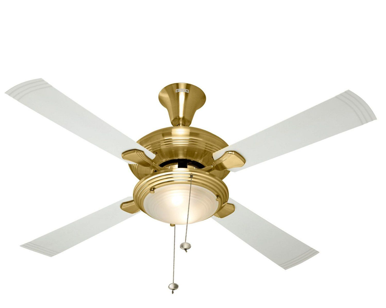 Usha Fontana Orchid 1200mm Ceiling Fan Gold Ivory Amazon In